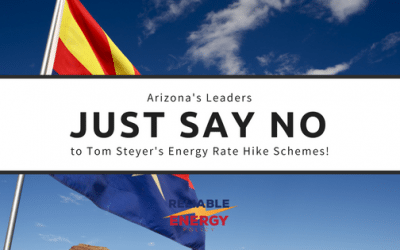 Who Else Says No to Higher Energy Costs in Arizona?